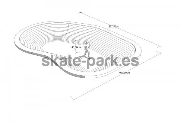 how to make a skate bowl