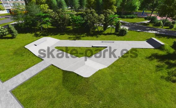 Concrete skatepark 620813