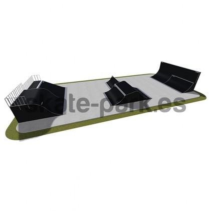 Modular skatepark 510115
