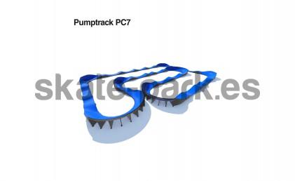 Pumptrack modular PC7