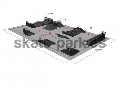 Sample skatepark 190109