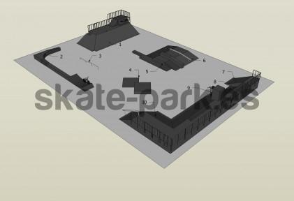 Sample skatepark 300909