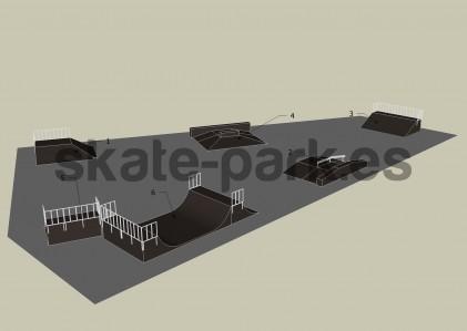 Sample skatepark 350709