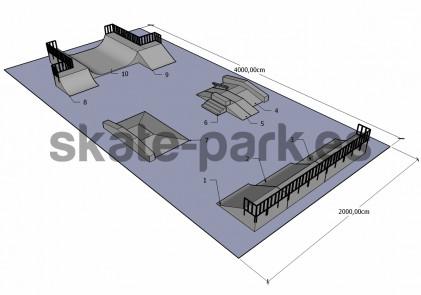 Sample skatepark 360410