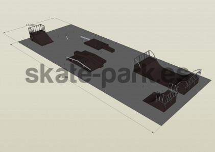 Sample skatepark 551009