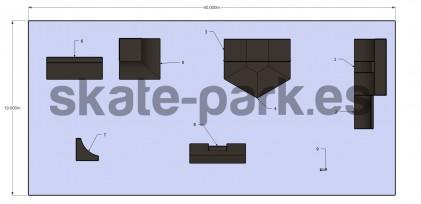 Sample skatepark 610710