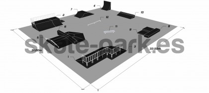 Sample skatepark 690511
