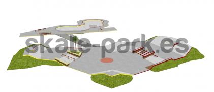 Skatepark betonowy 03082020