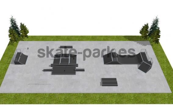 Skatepark modułowy OF2007160A1