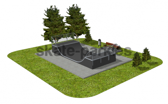 Skatepark modułowy OF2008142R1